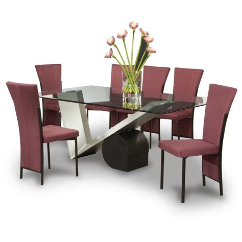 modern dining room table and chairs ashley furniture dining tables furniture unique