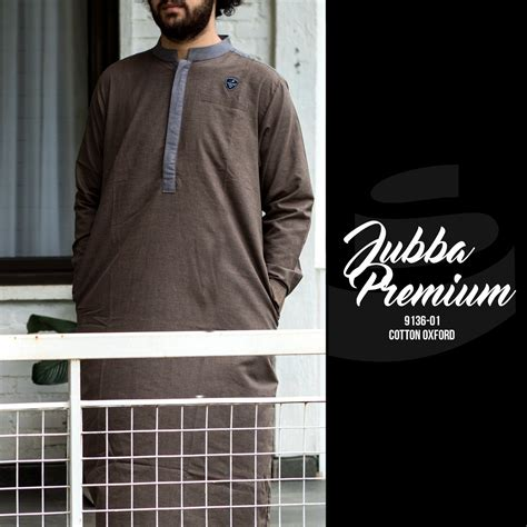 Baju Koko Premium 01 samase 9136 01 jubah premium pjg coklat samase clothes