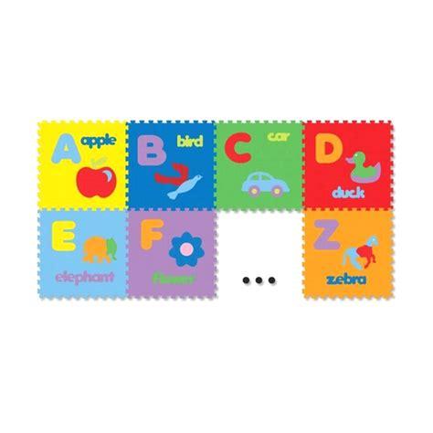Evamat Alas Lantai Huruf Abjad jual puzzle evamats gambar abjad mainan anak edukasi
