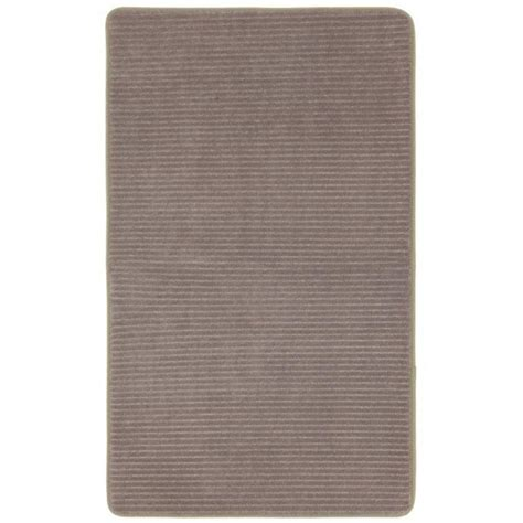 Mohawk Memory Foam Bath Rug Mohawk Home Taupe 20 In X 32 In Microdenier Polyester Memory Foam Bath Rug 050932 The Home Depot