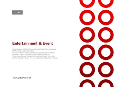 디자인 제안서 Events Entertainment Planning Proposal Ppt Event Planning Powerpoint Template