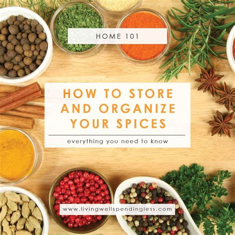 how to organize spice how to store organize your spices tips for storing