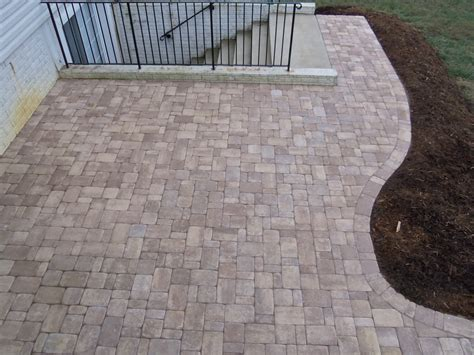 average cost of paver patio fresh stunning paver patio average cost 24222