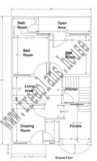 20 Sq Meters To Feet 25 215 40 Feet 92 Square Meter House Plan