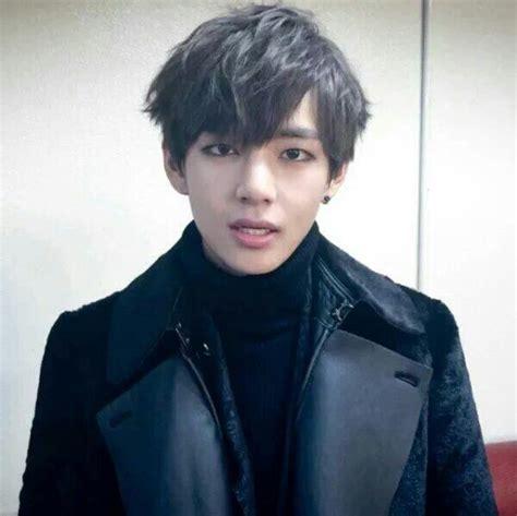 kim taehyung black hair 30 days bias challenge kim taehyung amino