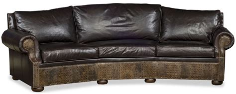 leather curved sofa curved leather sofa