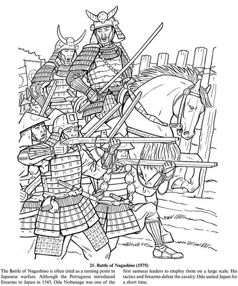 battle coloring pages inkspired musings japan poems culture paperdolls and