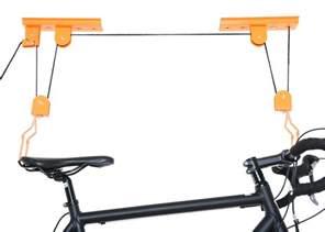 ceiling mounted garage bike lift bicycle hoist ebay