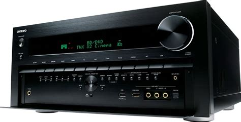 onkyo tx nr  channel receiver preview audioholics
