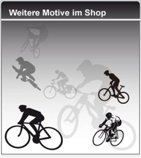 Sticker Motiv Fahrrad by Radsport Motiv Aufkleber Mountainbike Style4bike