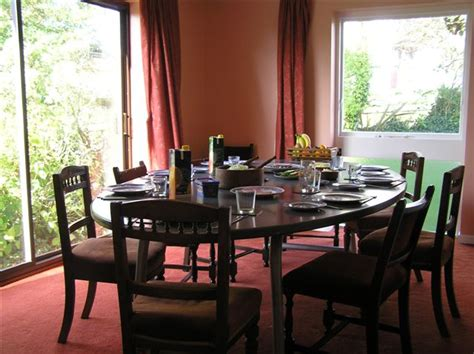 dining room at