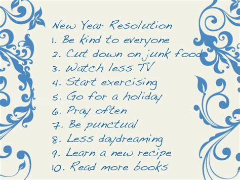 new year list new year s resolution list pictures photos and images