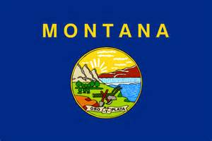 state colors flag of montana state symbols usa