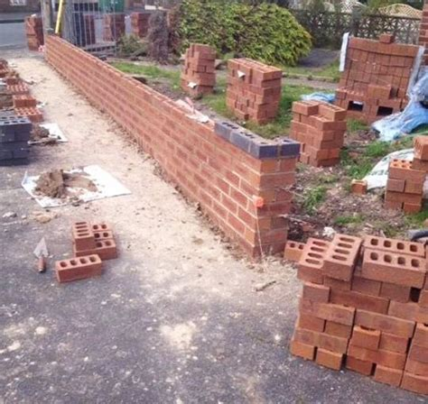 Garden Wall Building Fulwood Hanson Building Group Building Garden Walls