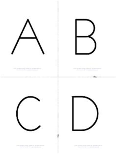 free printable alphabet flash card template school kindergarten on days of creation