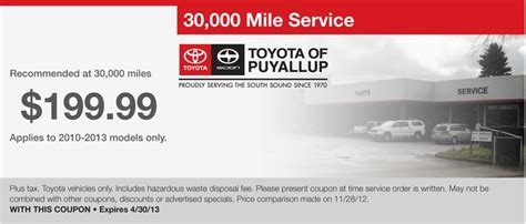 Toyota Puyallup Service Toyota Of Puyallup Service Autos Post
