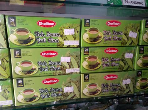Teh Jati Cina Celup teh celup herbal jati cina gholiban semarang toko herbal