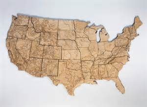 us map wood 54 40 maps of geography accessories better living