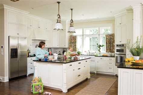 southern living kitchen designs detailed white kitchen all time favorite white kitchens