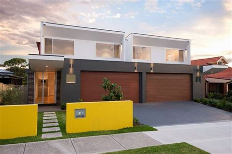 Split Entry House Floor Plans by Gallery Chifley Duplex 2 Coastal Construction Group