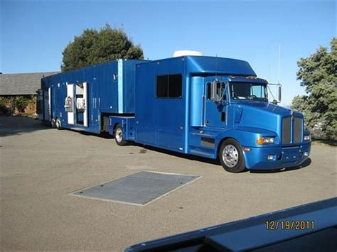 trailers kenworth for sale 1995 kenworth toterhome and trailer for sale in bennington