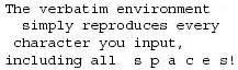 latex verbatim tutorial formatting getting to grips with latex andrew roberts