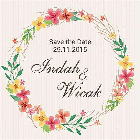 template undangan pernikahan photoshop gratis undanganku unik