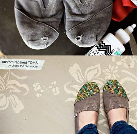 shoe repair diy best 25 toms repair ideas on fix toms make
