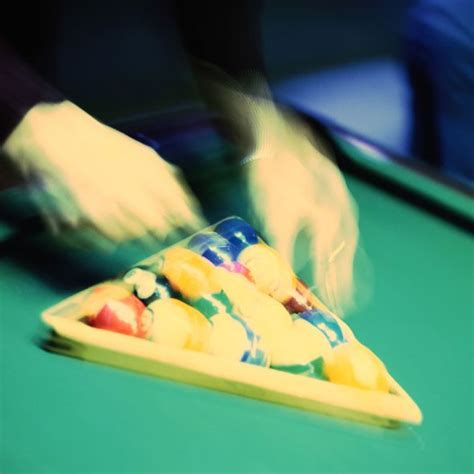 Rack Pool Balls Correctly by How To Rack Pool Balls Properly Like A Ch