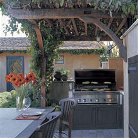 outdoor kitchen against house planning an outdoor kitchen fine homebuilding
