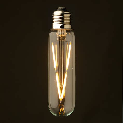 Three Bulb Lamp by 3 Watt Dimmable Led E27 Tube Bulb