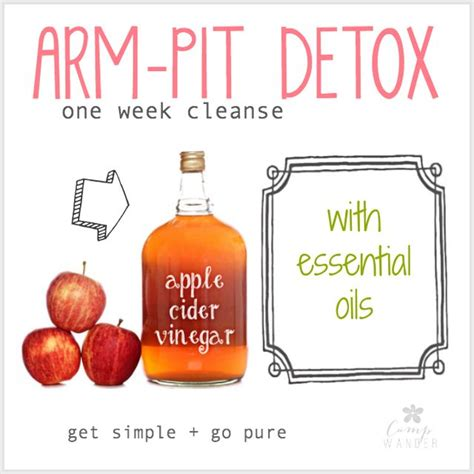 Armpit Detox Really Work by Armpit Detox For Optimal Diy Deodorant Performance C