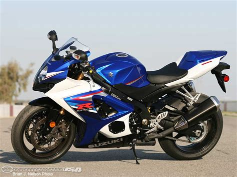 2007 Suzuki Gsxr1000 2007 Suzuki Gsx R1000 Comparison Motorcycle Usa