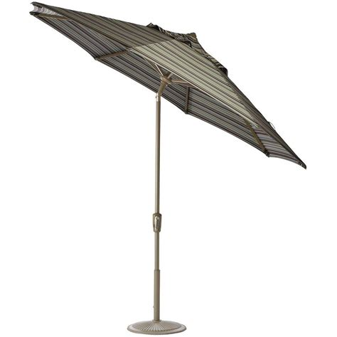 6 ft umbrella for patio plantation patterns 6 ft patio umbrella in green floral 9606 01251300 the home depot