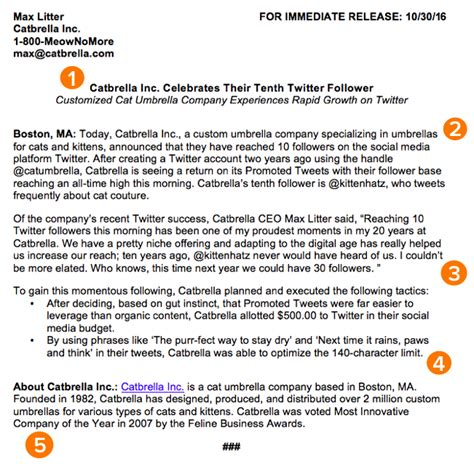 press releases template how to write a press release free press release template