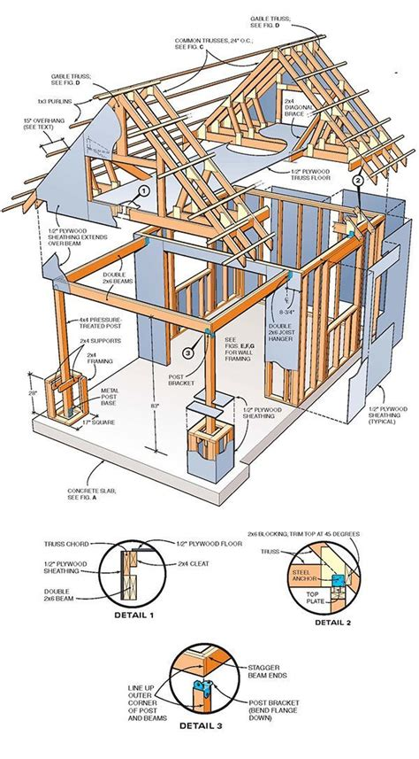 how to build a 2 story house 10 215 10 two storey shed plans blueprints for large gable shed