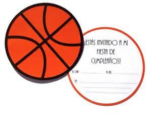 invitaci 243 n de baloncesto hecha a mano invitations by 193 liz