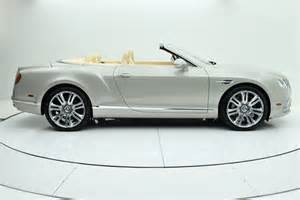 Used Bentley Convertible 2016 Bentley Continental Gt Convertible