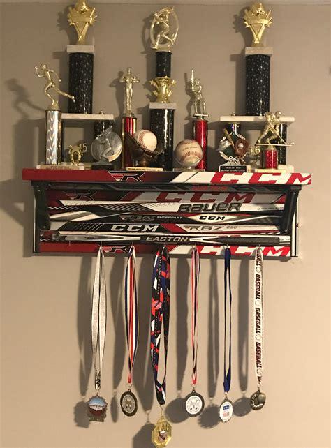 shelf hockey stick builds