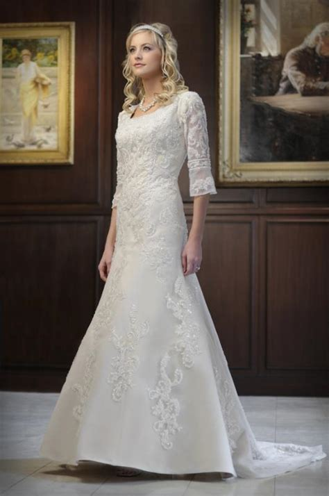 modest lace wedding dresses with sleeves simple modest wedding dress with lace sleeves ipunya