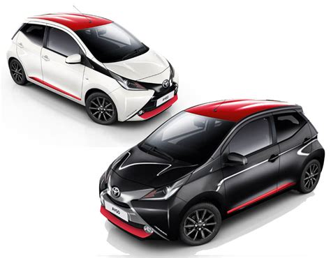 toyota aygo 2017 new x press and x style models revealed