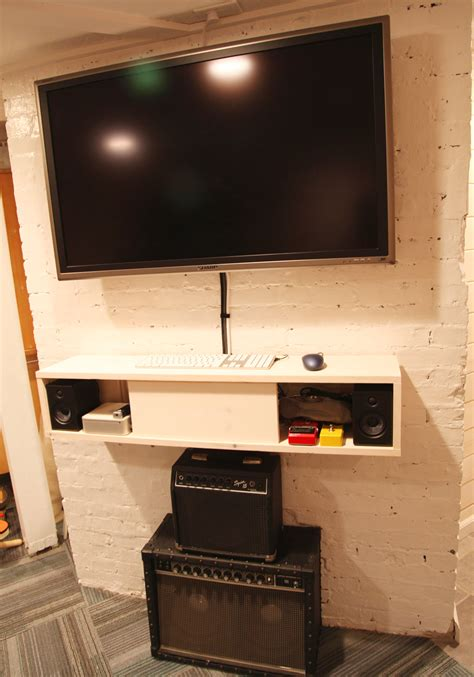 wall mounted media cabinet diy unique consoles that bring more appealing visual