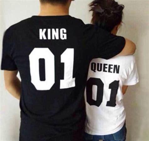 imagenes de amor king y queen polo queen king parejas unisex s 40 00 en mercadolibre