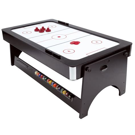 Air Hockey Table by Mightymast Scorpio 7ft Pool And Air Hockey Table
