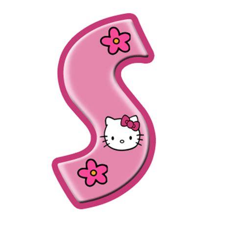 printable hello kitty letters oh my alfabetos alfabeto de hello kitty con letras