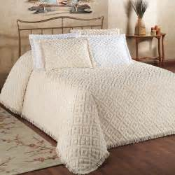 bed spreads cotton chenille bedspread bedding
