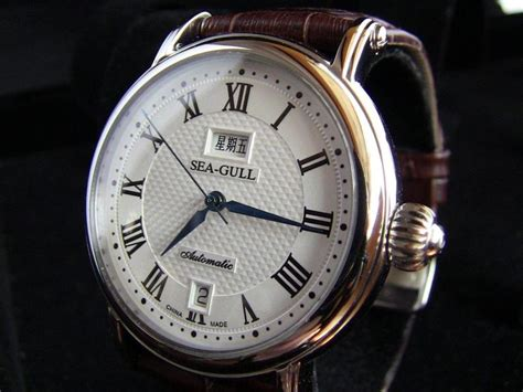 Seagull Twist Dress by Details About Classic Sea Gull M185s Automatic Mechanical