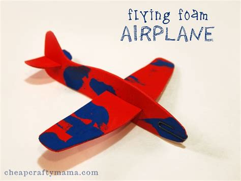 airplane craft for 31 best images about foam airplanes on raptors