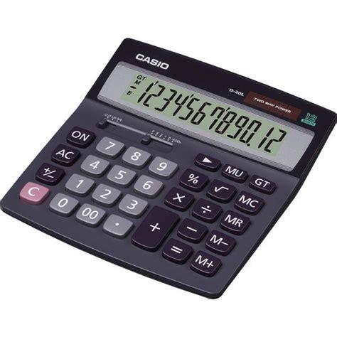 Casio Calculator Dh 14 calcolatrice da tavolo d 20l casio d dh 12bk ufficio