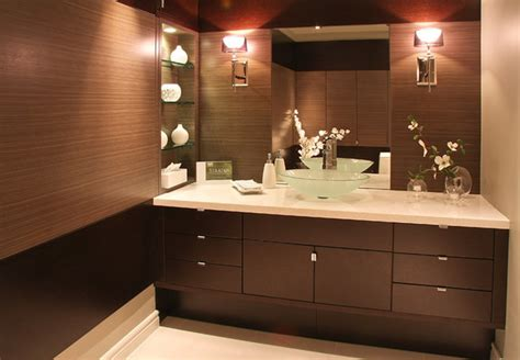 Ideas For Bathroom Countertops Seifer Countertop Ideas Contemporary Vanity Tops And Side Splashes New York By Seifer